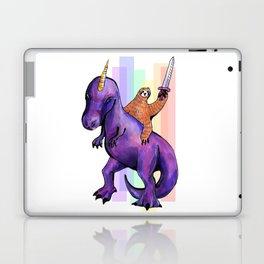 sloth dinosaur unicorn Laptop & iPad Skin