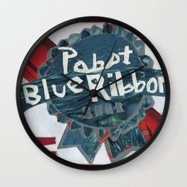 Pabst Blue Ribbon Wall Clock