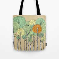 fall Tote Bags featuring Fall by Chris Gregori