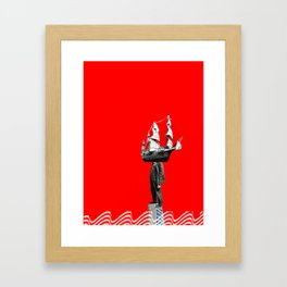 Look to your orb Framed Art Print
