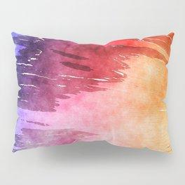 Tie Dye Watercolor Pillow Sham