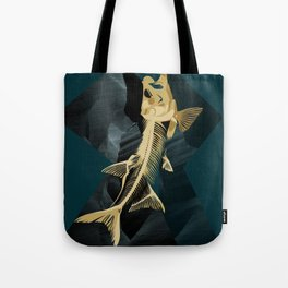 Catch the golden fish Tote Bag
