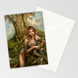 Fountain of oblivion Stationery Cards