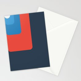 Trendy color palette Stationery Cards