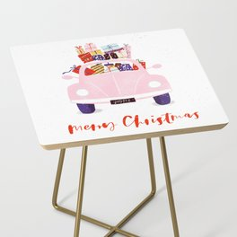 Driving home for Christmas Side Table