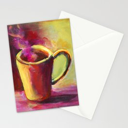 Coffee Cup Study No. 1 Stationery Cards