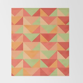 Triangles Throw Blanket