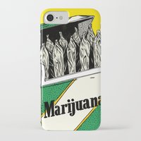 marijuana iPhone & iPod Cases featuring Mainstream Marijuana by Kelsey Dake