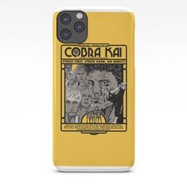 Cobra Kai Needs You! iPhone Case