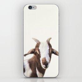 Goat Portrait iPhone Skin