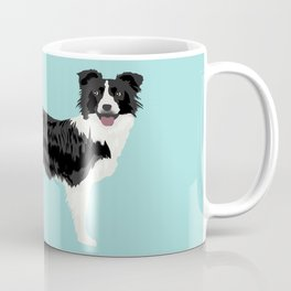 Border Collie dog breed funny dog fart Kaffeebecher