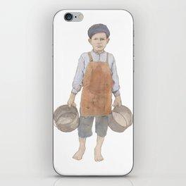Bucket Boy iPhone Skin