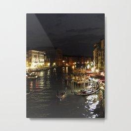 From the Rialto at Night Metal Print