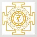 Sri Yantra Solar Chakra by iamcosmosis