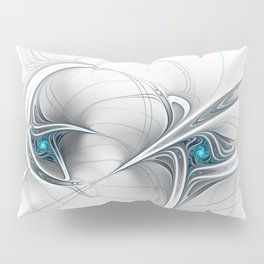 Come Together, Abstract Fractal Art Pillow Sham