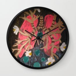 Breathing Life In Wall Clock