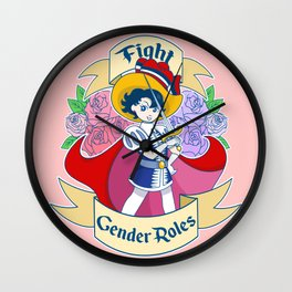 Princess Knight Wall Clock