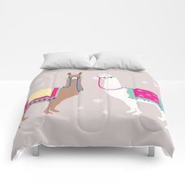 Drama Llama Comforters