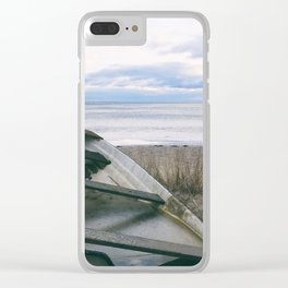 Neglected Clear iPhone Case