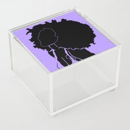 purple Acrylic Box