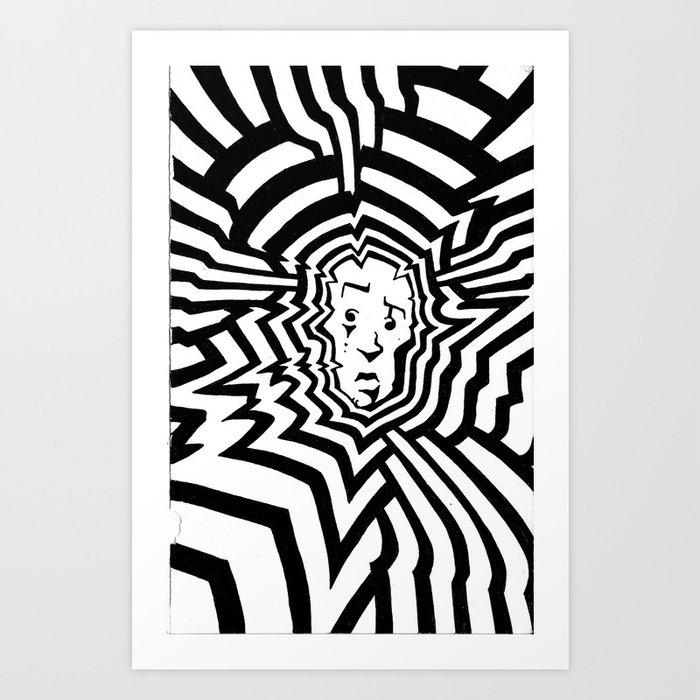 Radiation #1 Art Print