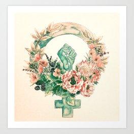 Cultivate Resistance Art Print