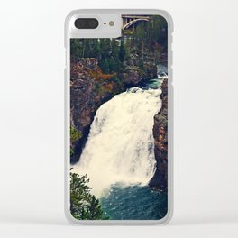 Power in the Fall Clear iPhone Case