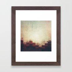 Fractions A90 Framed Art Print