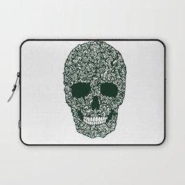 Moss Skull Laptop Sleeve