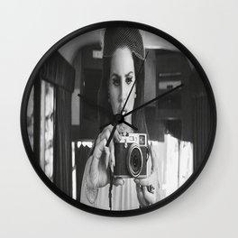 Lana Del Re-y Music Poster Canvas Wall Art Home Decor Wall Clock