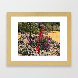 California Lawn Framed Art Print