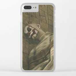 It Was More Fun in Hell - Insane Clown Horror Artwork Clear iPhone Case