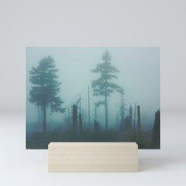 Dark forest Mini Art Print
