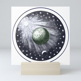 Cosmic stardust Mini Art Print