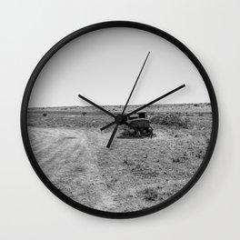Desert Resting Place Wall Clock