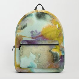Watercolor Ponds Backpack