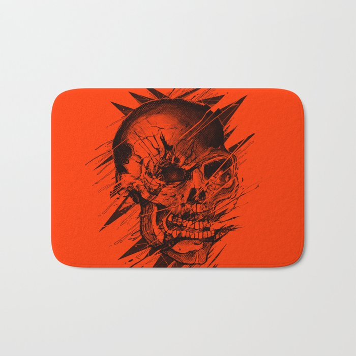 Skull's Not Dead Bath Mat