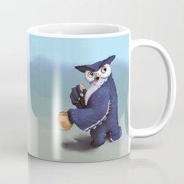 Monster of the week: Tufted Owl Beast Coffee Mug