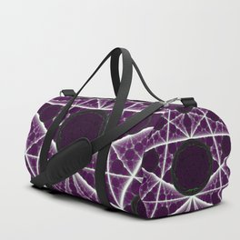 Delusions of a Multiverse - Purple Variant Duffle Bag
