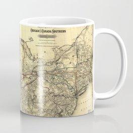 Chicago And Canada Southern Railway 1872 Coffee Mug