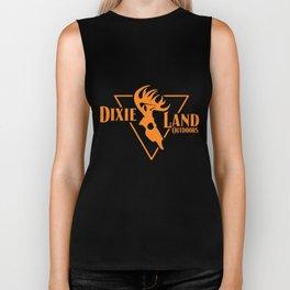 Dixie Land Outdoors Long Sleeve Bowhunter Deer Skull Bow Hunt Biker Tank