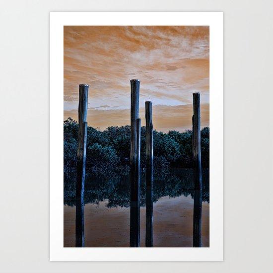 Differnt World Art Print