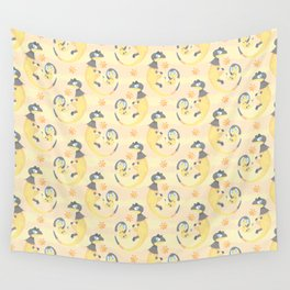 Heliop-tile Wall Tapestry