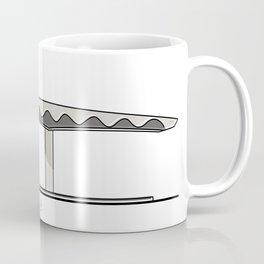 Red de Pasillos Cubiertos UCV 2/3 Coffee Mug