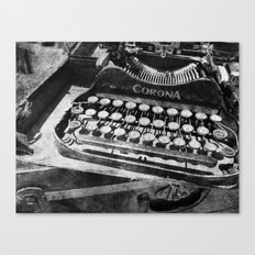 Writing Machine no. 4 Canvas Print