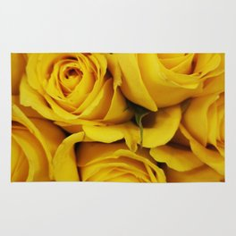Normal Yellow Rose Rug
