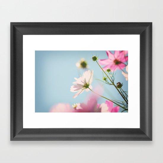 A perfect summer day Framed Art Print