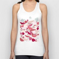 bed Tank Tops featuring Sea Bed by Nic Squirrell
