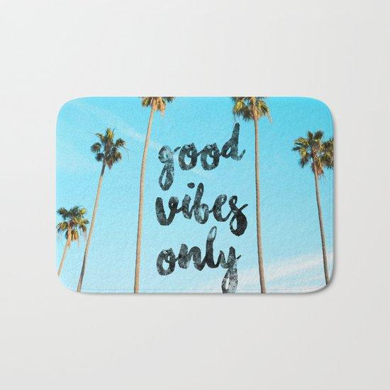 Good LA Vibes Only #society6 #lifestyle Bath Mat