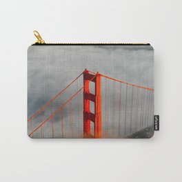 Golden Gate Bridge, San Francisco on Foggy Morning Carry-All Pouch